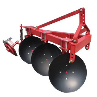 Light disc plough